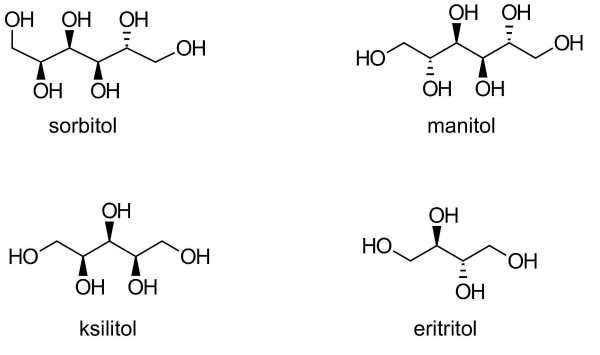 sorbitol ksilitol